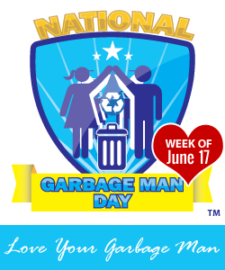 National Garbage Man Day - Local Recycling Resources - Call toll free (888) 413-5105 for a free quote on recycling dumpster rentals, roll off dumpster rentals, and commercial dumpsters in your area.