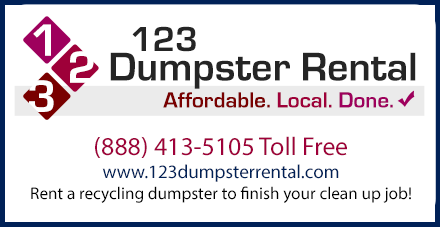 123 Dumpster Rental - Rent A Recycling Dumpster