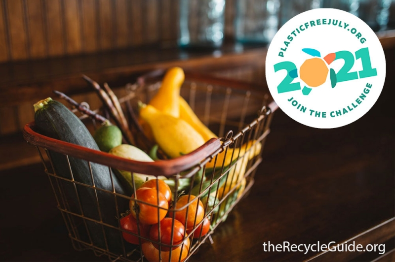 #ChooseToRefuse for Plastic Free July | Recycle Guide